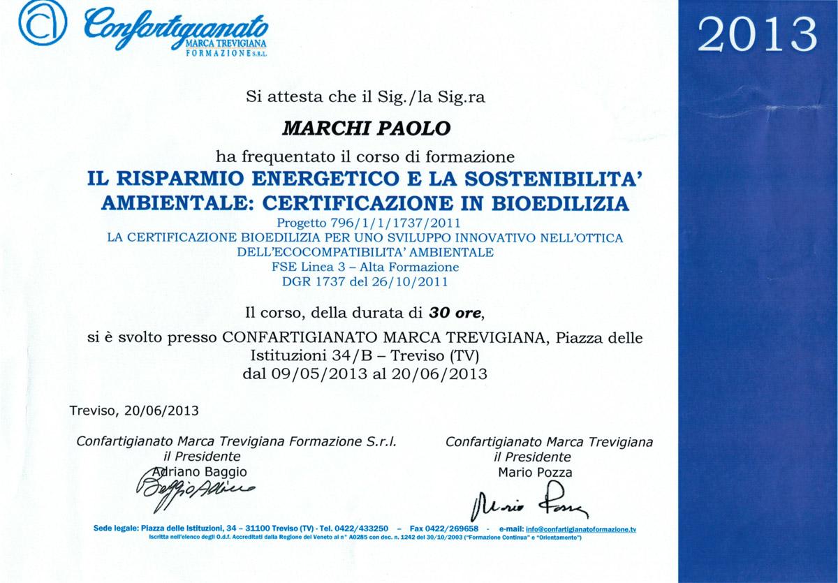 Costruzioni di Bioedilizia a Treviso e provincia – Marchi Silvio